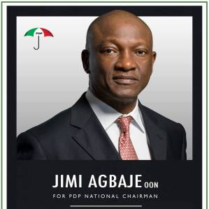 Jimi Agbaje for PDP Chairman